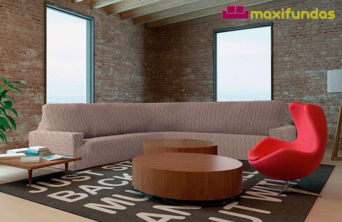 Ideas perfectas para vestir un sofá rinconera